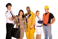 Photo of people from various industries
