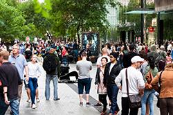 Peer Cities Employment-Population Ratio