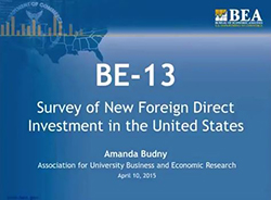 BEA Foreign Direct Investment