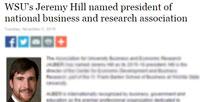 Jeremy Hill President of AUBER