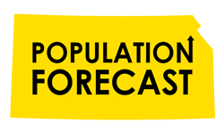 Kansas Population Forecast from 2014 to 2064