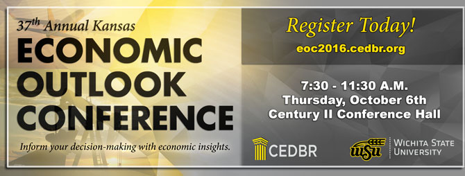 Kansas Economic Outlook Conference Registration, Wichita October, 6, 2016