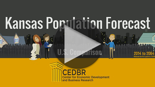 YouTube, Kansas Population Forecast